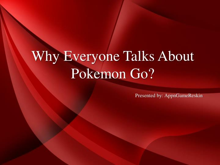 Why Everyone Talks About