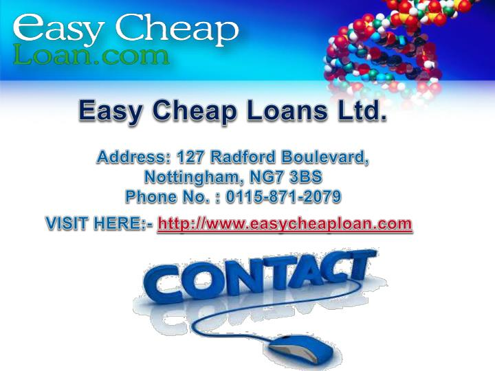 Easy Cheap Loans Ltd.