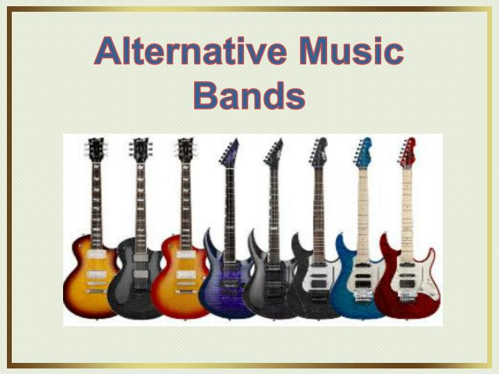 Alternative Music Bands