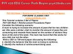 psy 420 edu career path begins psy420edu com3