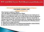 psy 420 edu career path begins psy420edu com9