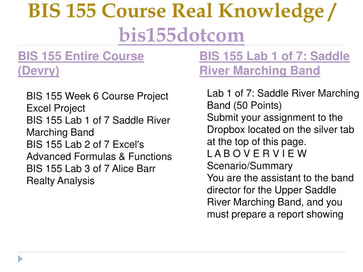 Bis 155 course real knowledge bis155dotcom1