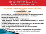 sec 400 mentor career path begins sec400mentor com6