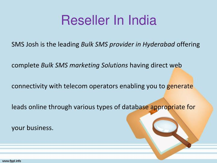 Reseller In India