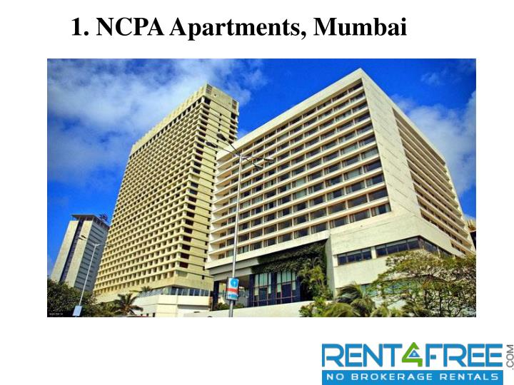 1. NCPA Apartments, Mumbai