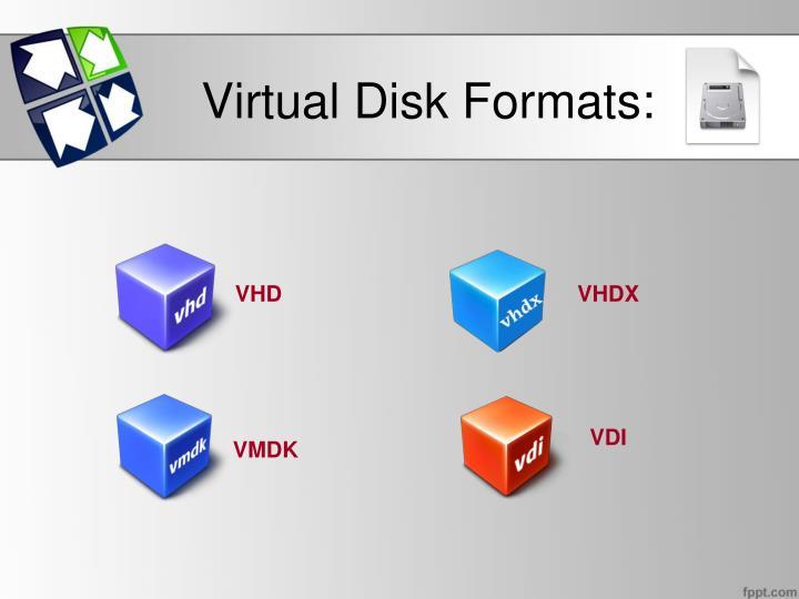 Virtual Disk Formats