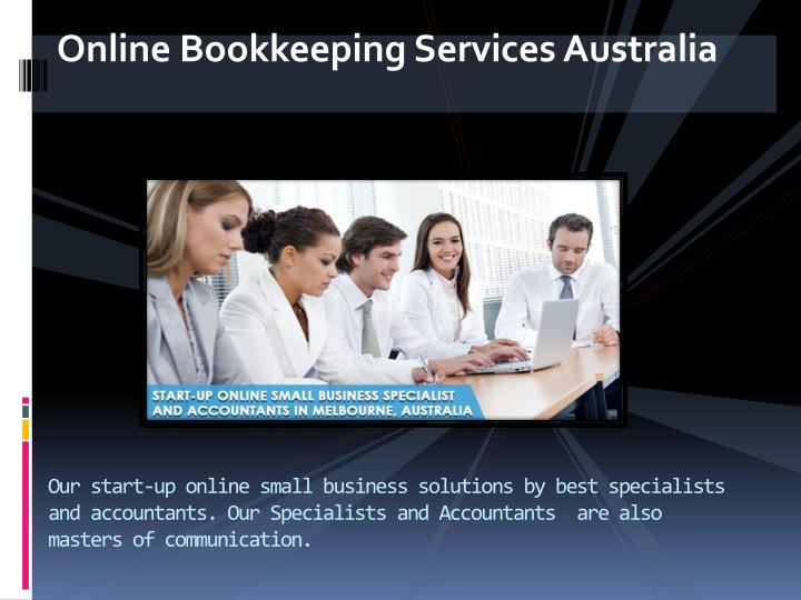Online Bookkeeping Services Australia