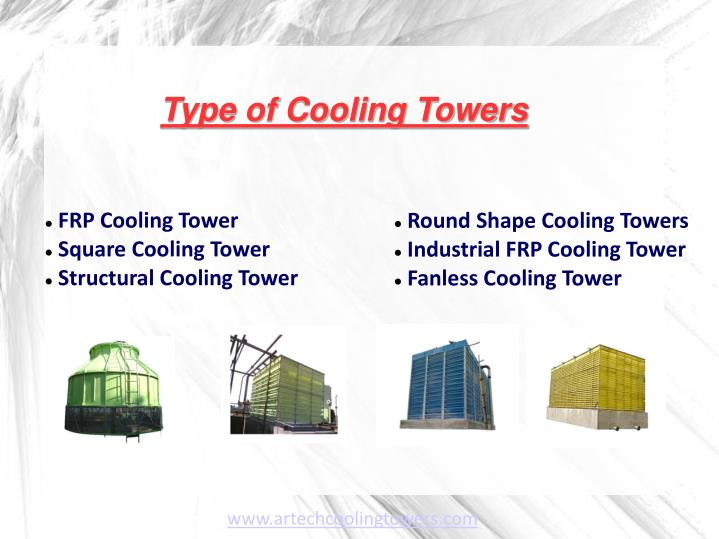 Type of Cooling Towers
