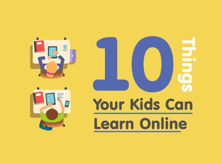 10 things your kids can learn online