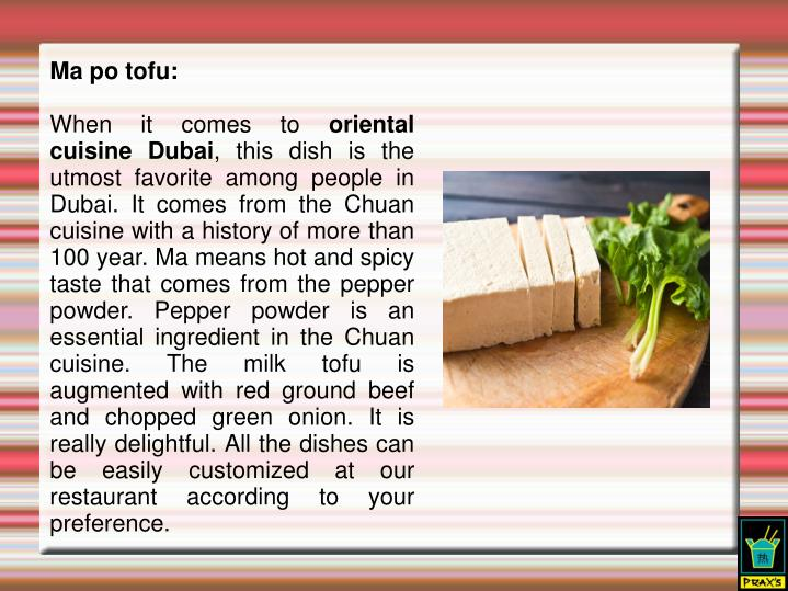 Ma po tofu: