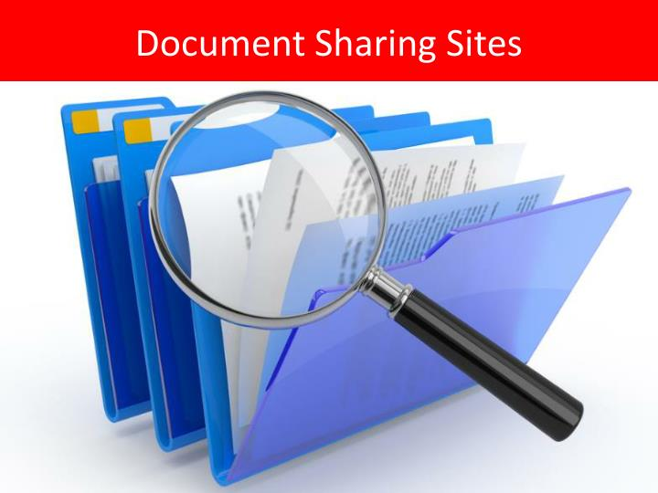 Document Sharing Sites