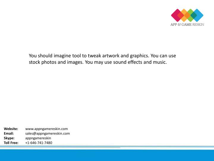 You should imagine tool to tweak artwork and graphics. You can use
