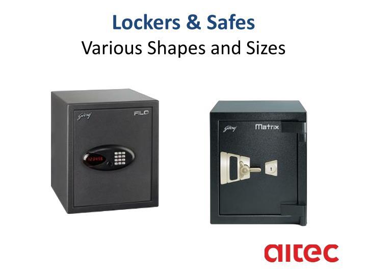 Lockers & Safes