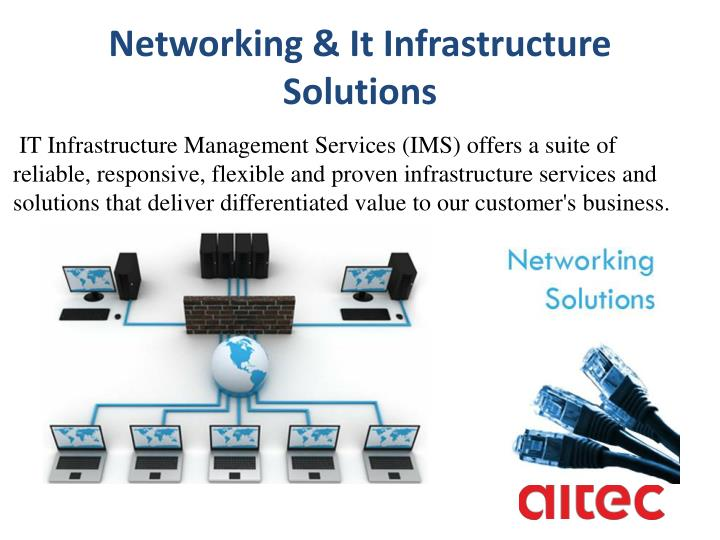 Networking & It Infrastructure