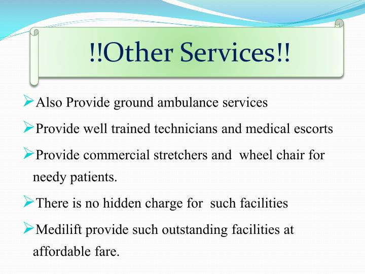 !!Other Services!!