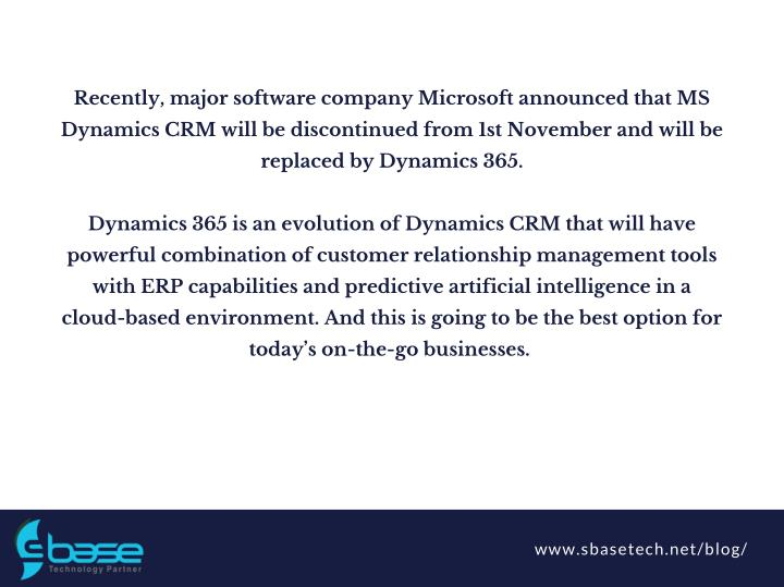 Recently, major software company Microsoft announced that MS