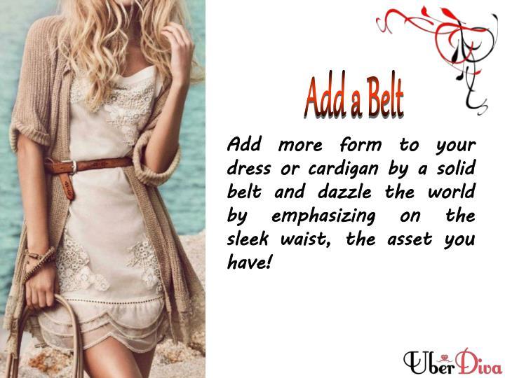 Add a Belt