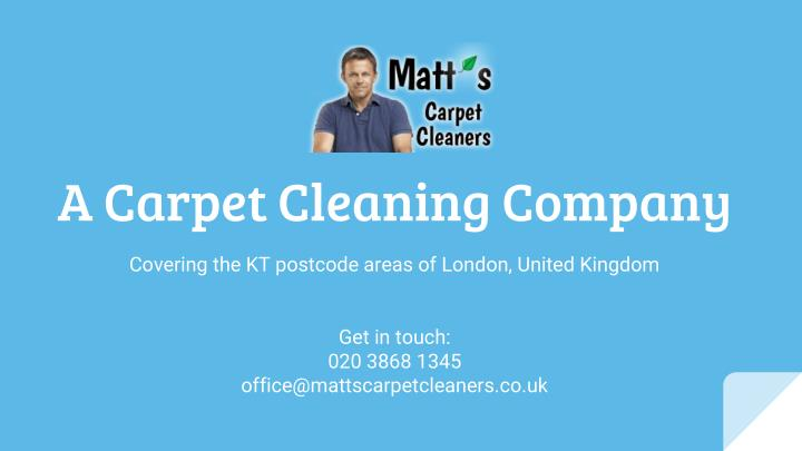 A Carpet Cleaning Company