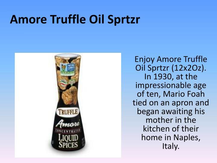 Amore Truffle Oil