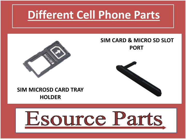 Different Cell Phone Parts