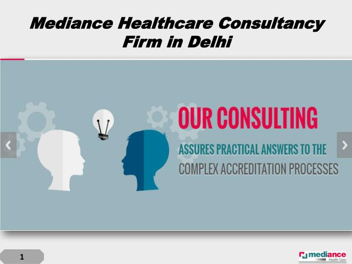 Mediance healthcare consultancy firm in delhi