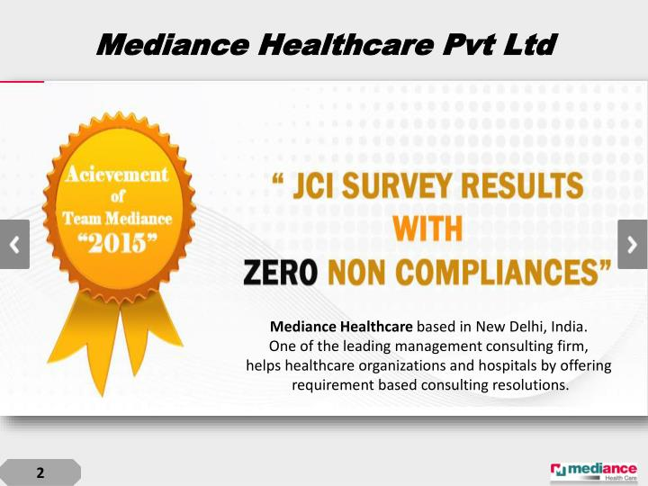 Mediance healthcare pvt ltd
