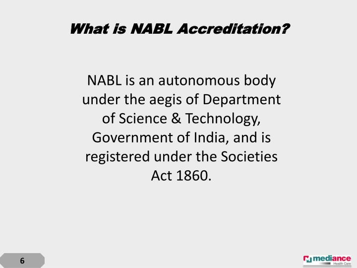 What is NABL Accreditation?