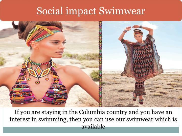 Social impact Swimwear