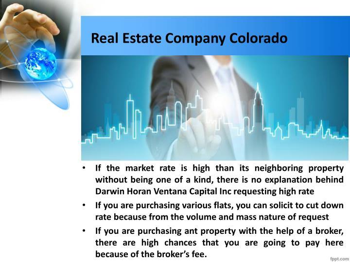 Real Estate Company Colorado