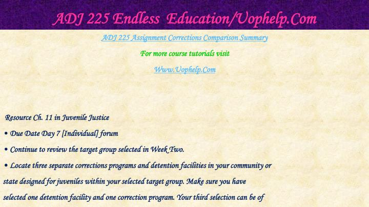 Adj 225 endless education uophelp com2