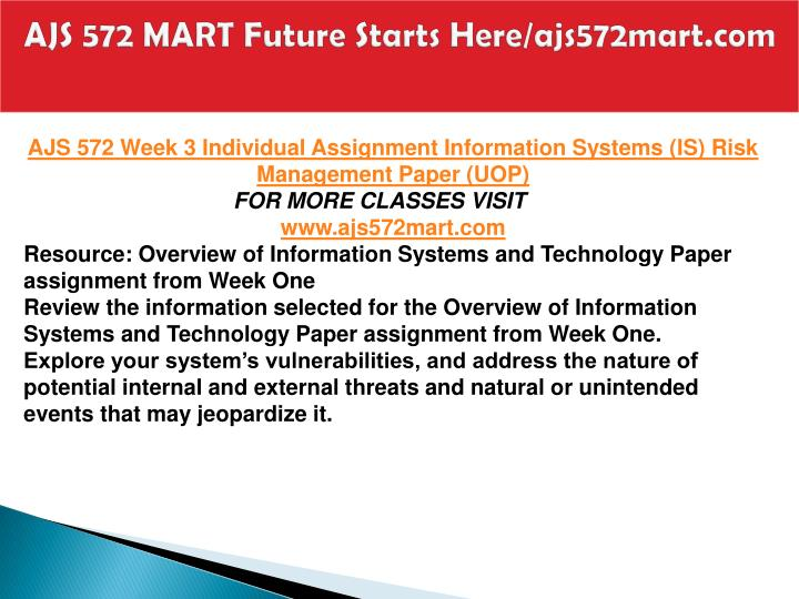 AJS 572 MART Future Starts Here/ajs572mart.com