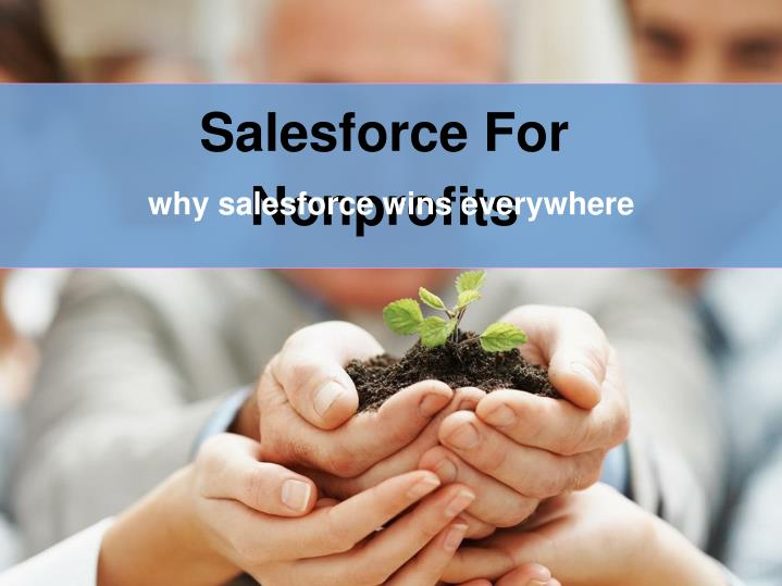 Salesforce For Nonprofits