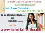 bis 155 course great wisdom tutorialrank com20