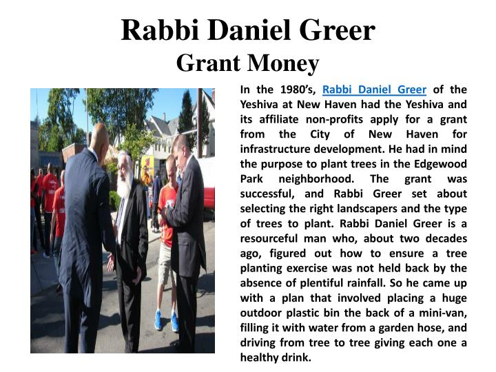 Rabbi Daniel Greer