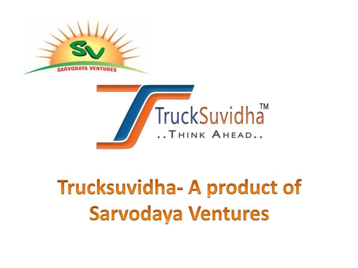 Posting load with trucksuvidha