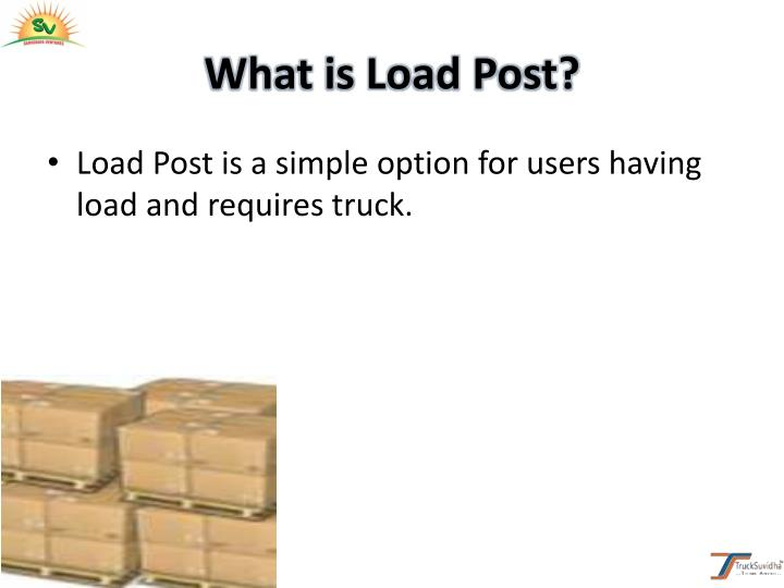 What is Load Post?