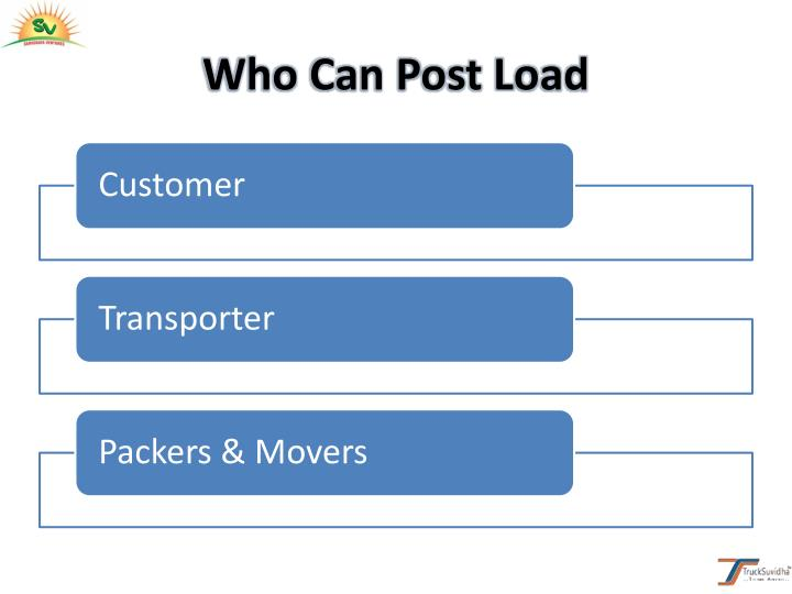 Who Can Post Load