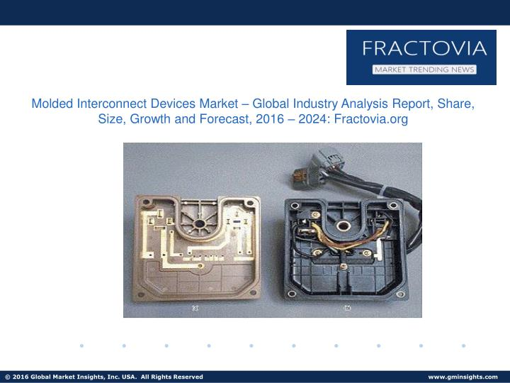 Molded Interconnect Devices Market – Global Industry Analysis Report, Share, Size, Growth and Fore...