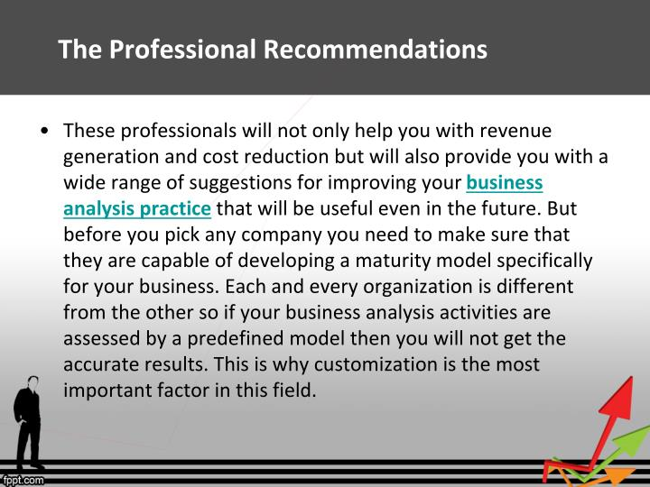 The Professional Recommendations