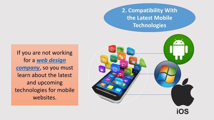 2. Compatibility