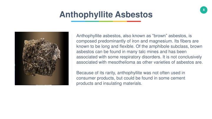 Anthophyllite Asbestos