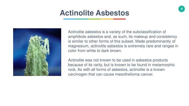 Actinolite Asbestos
