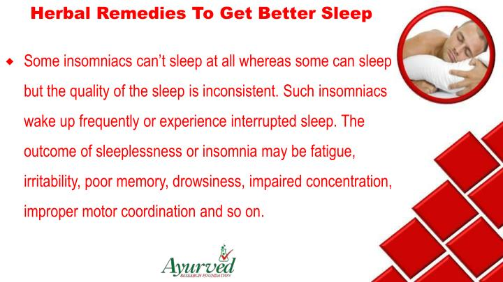 Herbal Remedies To Get Better Sleep