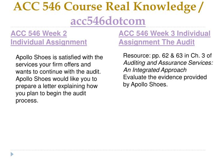 Acc 546 course real knowledge acc546dotcom2