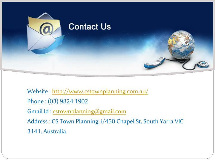 Website : http://www.cstownplanning.com.au/