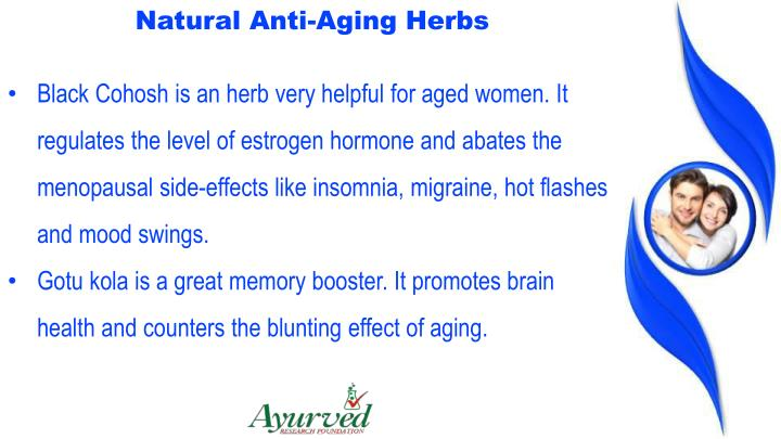Natural Anti-Aging