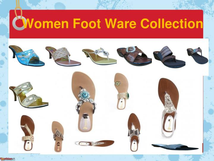 Women Foot Ware Collection