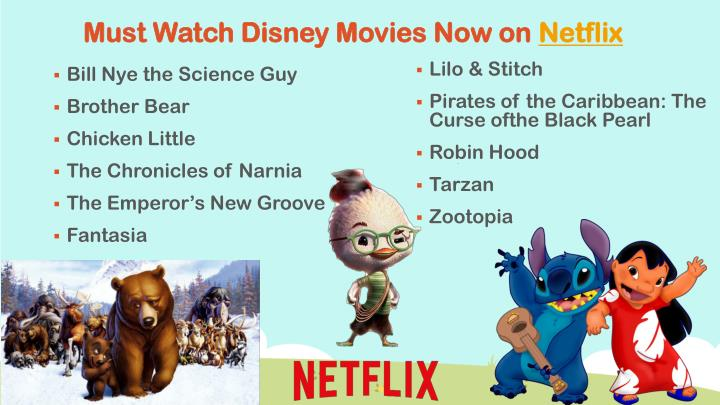 Must Watch Disney Movies Now on