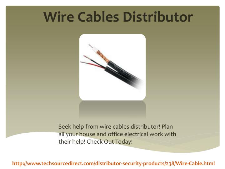 Wire Cables Distributor