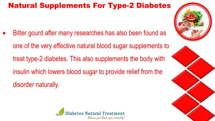 Natural Supplements For